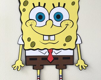 17in SpongeBob Party Decoration, Sponge Bob SquarePants, Theme Party, Party Decoration