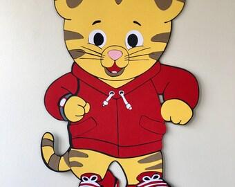 18 en décoration de Daniel Tiger, Daniel le tigre, Monsieur Rogers, décoration de fête, soirée à thème