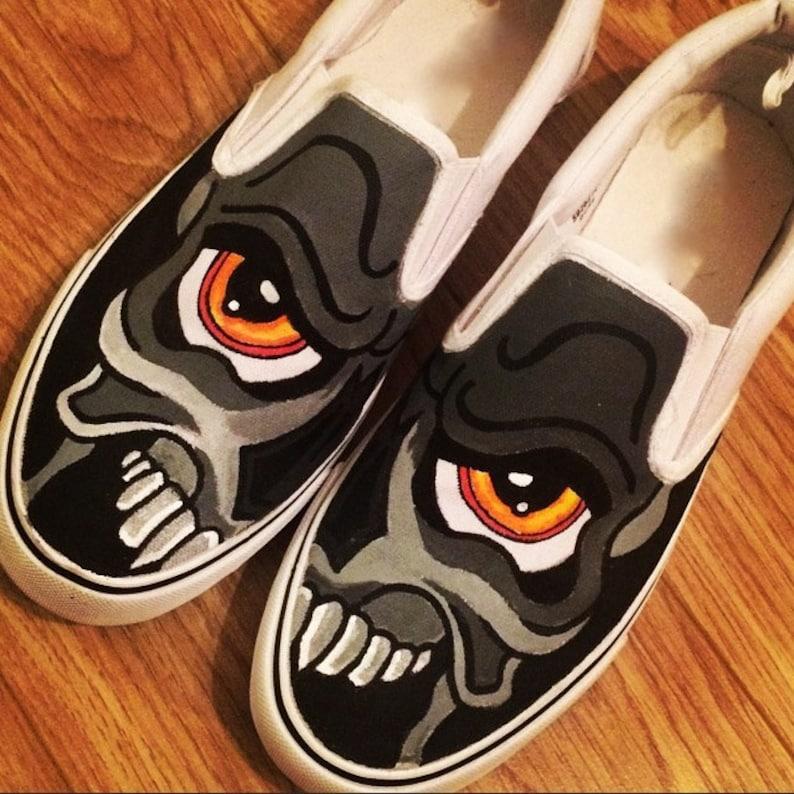 de3bb0b50b Skull Graffiti Shoes Custom Shoes Custom Converse Converse
