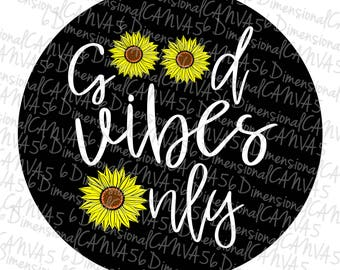 c05ee244bcb Good Vibes Sunflower jeep tire cover
