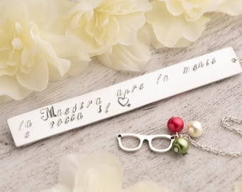 retirement gift as teacher appreciation bookmark with Teacher opens mind note -  quote teacher gift for class of 2016 retirement