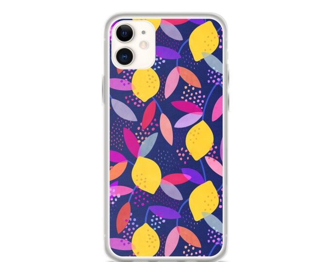 iPhone Case - Colorful Lemon Pattern Case for iPhones