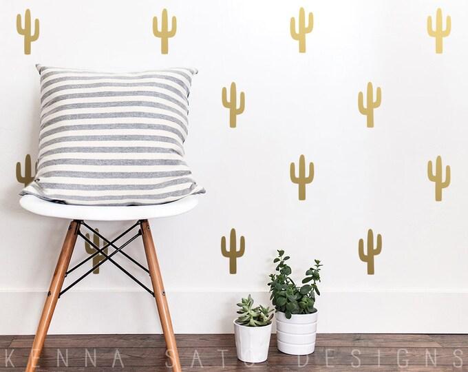 Cactus Wall Decals - Cactus Decals, Cactus Decor, Wall Decor, Cactus Wall Art, Wall Stickers, Nursery Decor, Kids Room Decor, Nursery Decals
