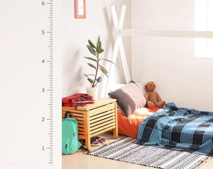 Height Chart Wall Decal - Growth Chart for Kids Room, Nursery Decor, Playroom Wall Art