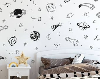 Music Notes Stick Anywhere Wall Art Wall Stickers Wall Decal  UK RUI92