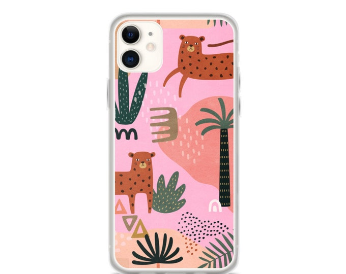 iPhone Case - Abstract Jungle Pattern Phone Case for iPhones