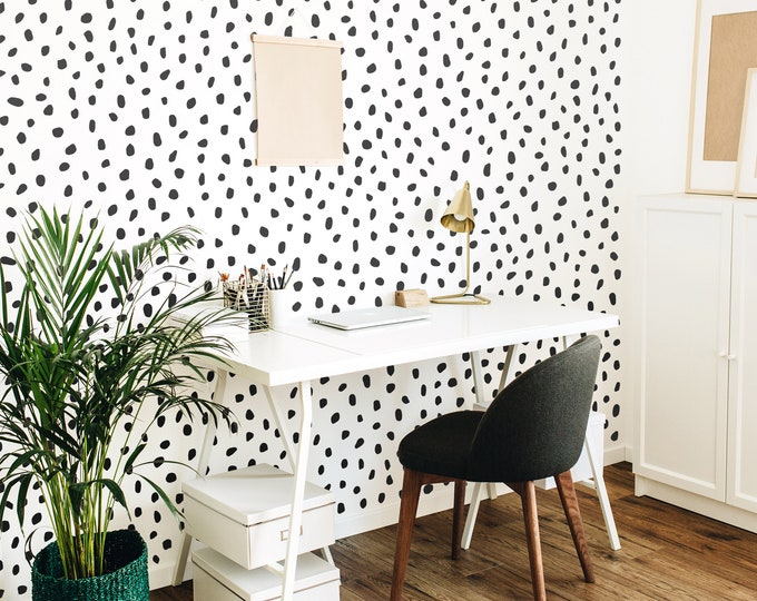 Polka Dot Wall Decals - Modern Wall Stickers, Nursery Decor, Kids Room Wall Art, Scandinavian Home Decor
