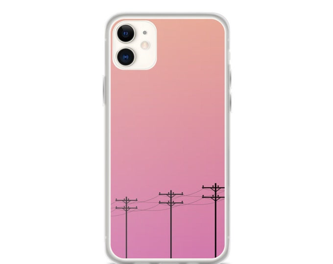 iPhone Case - Boho, Minimal, Modern Sunset Design