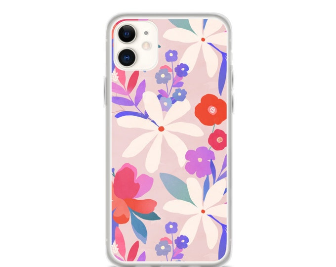 iPhone Case - Pink Floral Pattern Phone Case for iPhones