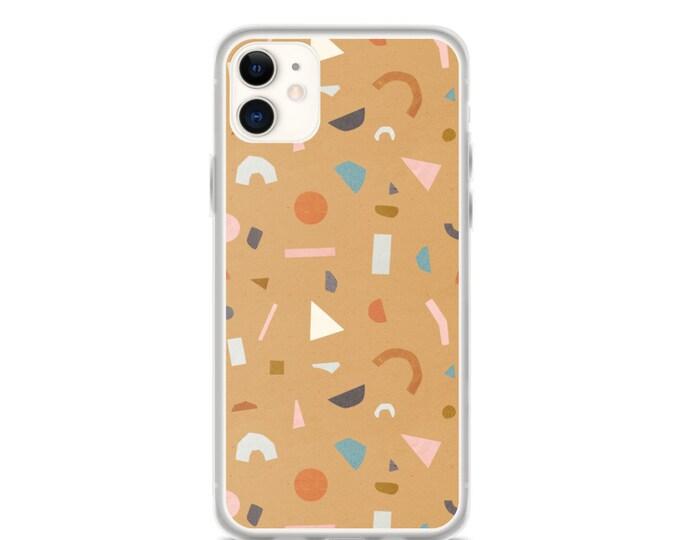 iPhone Case - Boho, Terrazzo Pattern Phone Case