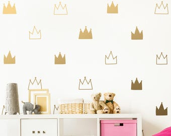 More colors  sc 1 st  Etsy : gold wall decals - www.pureclipart.com
