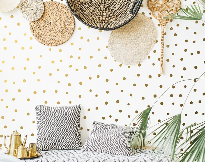 Polka Dot Wall Decals - Confetti Decals, Vinyl Wall Decals, Wall Stickers, Nursery Decor, Kids Room Wall Decor
