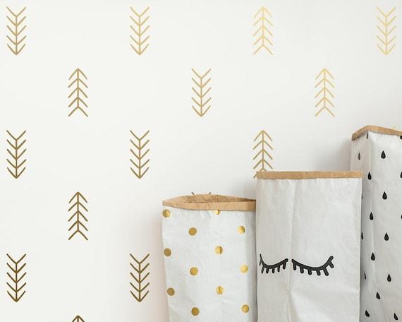 Arrow Wall Decals - Tribal Arrow Decals, Geometric Decals, Nursery Decals, Unique Vinyl Decals, Modern Wall Decals, Arrow Decals