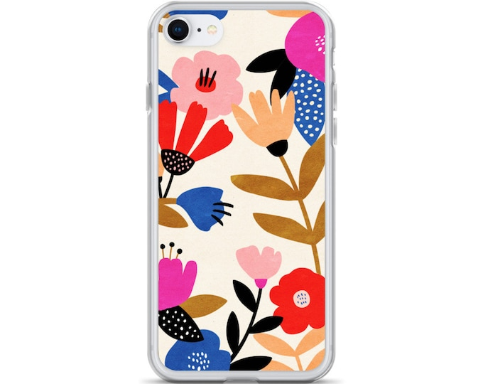 iPhone Case - Floral Pattern Phone Case for iPhones