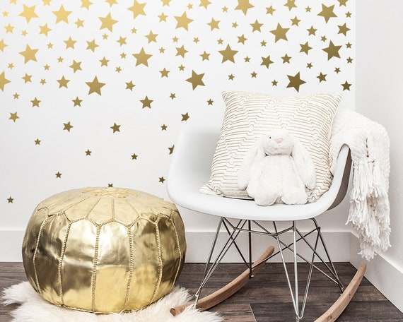 Star Wall Decals - Nursery Decals, Wall Stickers, Nursery Decor, Kids Room Decor