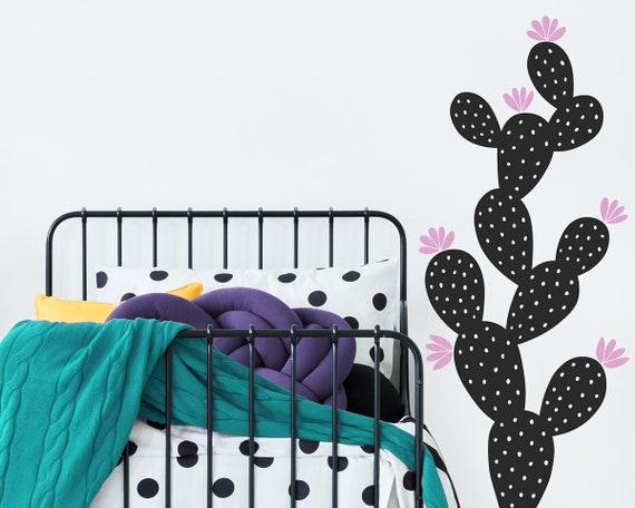 Cactus Wall Decal - Kids Room Decal,  Nursery Decal, Cactus Decor, Wall Decor, Nursery Decor, Wall Art, Kids Room Decor, Cactus, Home Gift
