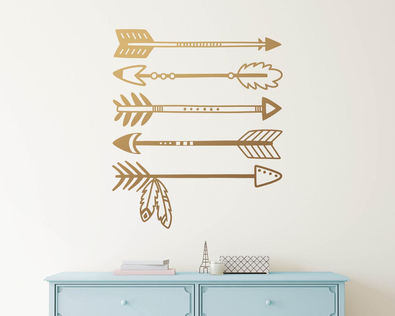 Tribal Arrows Wall Decal Arrow Decals Nursery Decal