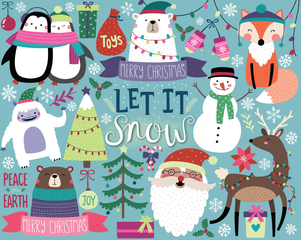 13++ Christmas Clipart Cute