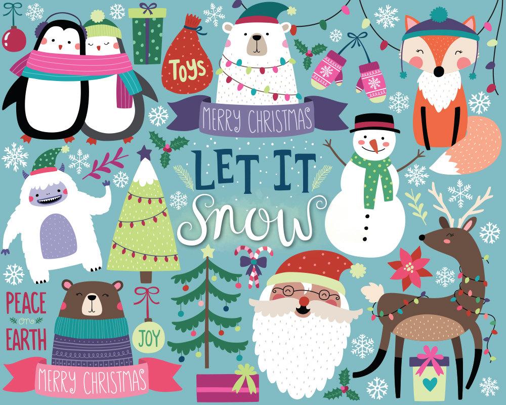 13++ Christmas Clipart Cute