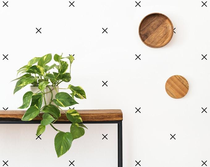 Minimalist Geometric Wall Decals - Nursery Decals, Scandinavian Decor, Kids Room Decor, Nursery Wall Decor, Bedroom Decals, Wall Stickers