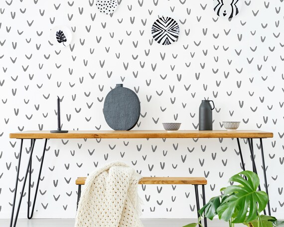 Abstract U-Shape Wall Decals - Nursery Decals, Scandinavian Decor, Kids Room Decor, Nursery Wall Decor, Bedroom Decals, Wall Stickers