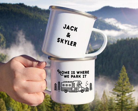 Personalized Camp Mug - Custom Name Mug, Personalized Mug, Camper, Camping Gift, Personalized Gift, Custom Gift, Wanderlust, Adventure Gift