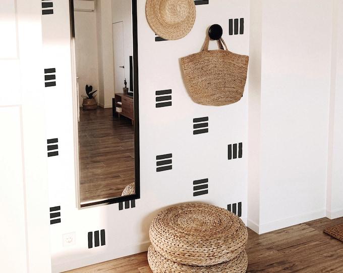 Line Wall Decals - Abstract Wall Decor, Modern Farmhouse Decor, Boho Nursery Wall Stickers