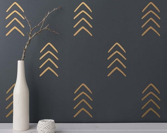 Arrow Wall Decals - Geometric Decals, Nursery Decals, Unique Vinyl Decals, Modern Wall Decals, Arrow Decals