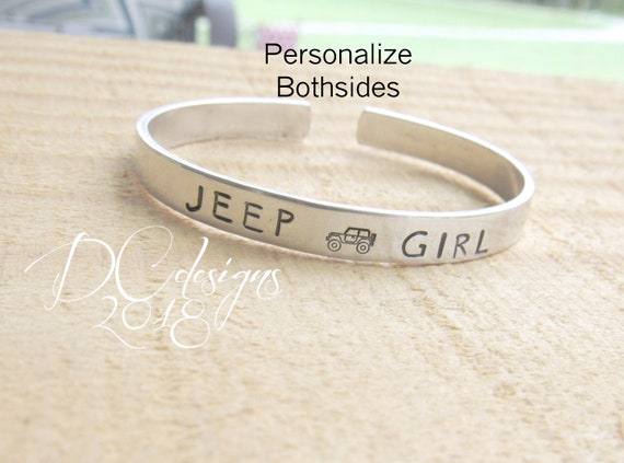 Jeep Girl Keychain Jeep Wrangler Rubicon Keyring Key Chain Life Is Good Silver