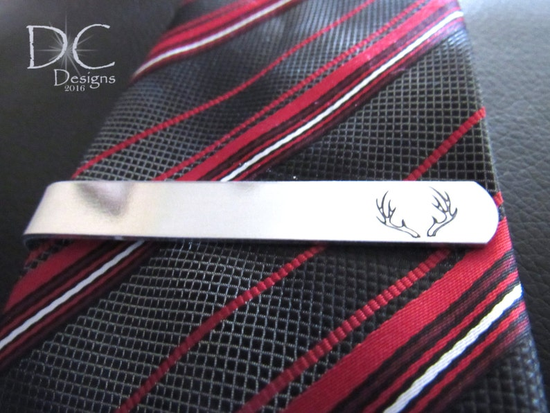 Birthday Gifts For Boyfriend Hunting Tie Clip Deer