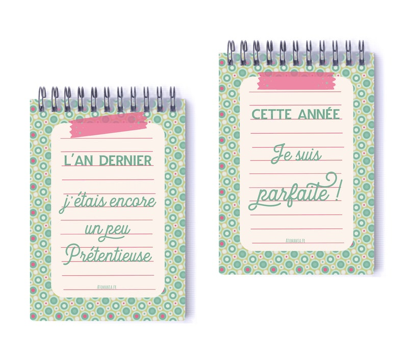 I/'m perfect to deliver a smile! an ATOMANIA notebook..