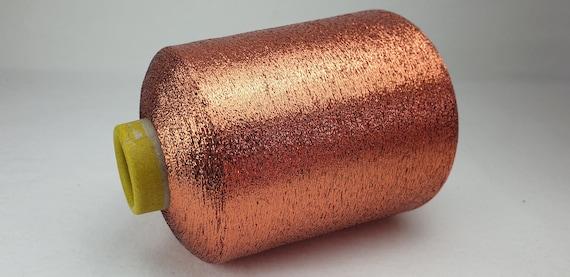 1 spool 500 g metallic yarn  Nm 83 violet 83.000 mkg