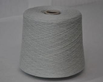 1 spool 1 kg cashmere  yarn 28/2 Nm grey knitting