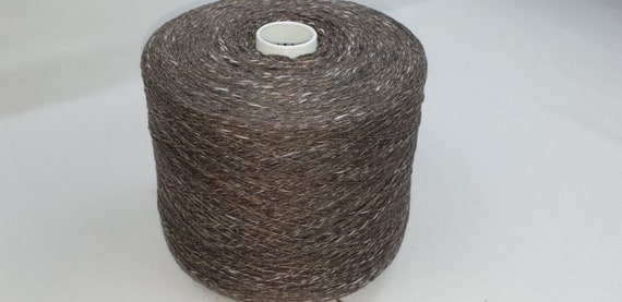 Blend Alpaca Knitting Yarn Wool 5 Skeins 500g Brown 39