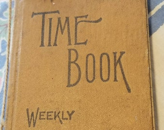 Time Log Weekly Record Keeping