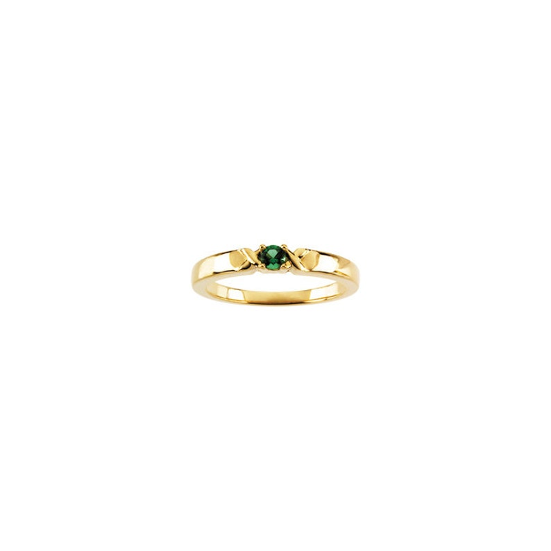 Birthstones 14k Gold  Mother/'s Ring  White  Yellow Or Rose Gold Personalized Family Jewelry ST82198