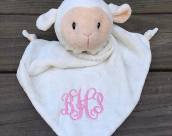 Baby lovey, Baby Lovey Blanket, Personalized baby lovey, Baby toy, Crib toy, Baby shower gift