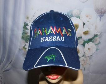 c74289ca89f Bahamas Nassau Hat Baseball Cap Souvenir Hat Rare Vintage 90 s Hat Low    Fast Shipping