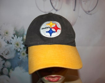Pittsburgh Steelers Hat Vintage Embroidered Baseball Cap NFL Hat Low   Fast  Shipping 2651dd9a5