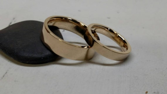 Diy Wedding Bands Workshop 14k Yellow Gold Rose Gold Ring Work Shop Handmade By You