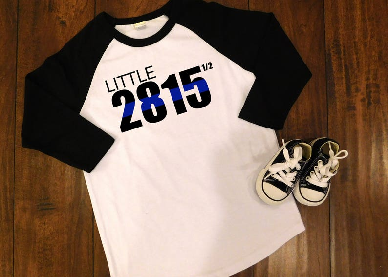 af206f891e7 Thin Blue Line Childrens Shirt Police Tee Police daughter   Etsy