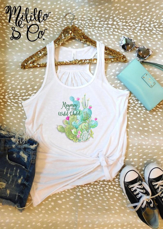 67db691cca34 Cactus Tank Top Cute Cactus Shirt Trendy Cactus Tee Wild