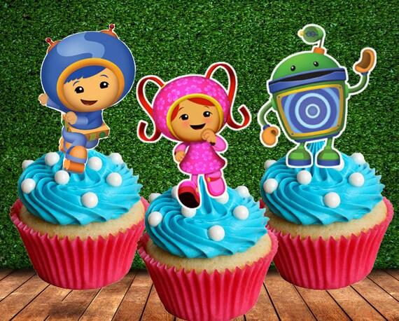 12pcs Team Umizoomi Cupcake Topper