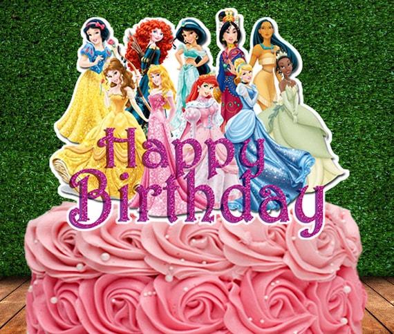 Disney Princess Cake Topper