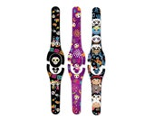 Día de Muertos Decal for MagicBand Day of the Dead Magic Band 1 or 2 Skin RTS Ready To Ship Glitter or Glow in the Dark Decal