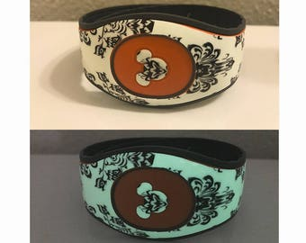 Glow in the Dark Magic Band Decal | Haunted Mansion Magic Band Skin for Original 1.0 & 2.0 Bands | RTS Ready To Ship