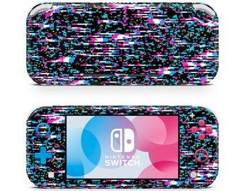 Nintendo Switch Lite Skin // Switch Decal // Glitch