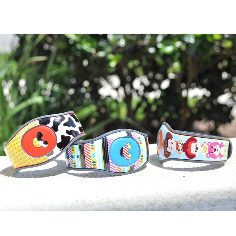 RTS Disney Magic Band Wrap Magic Band 2 Decal MagicBand 2 Skins Surprise Mix of Overstock Ready to Ship Magic Band 2.0 Decals on Sale