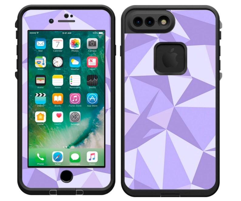 watch 35ef2 fe1c3 Purple Galactic Wall LifeProof Decal | LifeProof Skin | iPhone X, iPhone 8,  iPhone 8 Plus, iPhone 7, iPhone 7 Plus, iPhone 6 Plus, iPhone 6