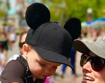 10d3721d8b4 Mickey Mouse Inspired Mouse Ears Baseball Cap!